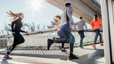 The social aspect of exercising can be the strongest motivator.