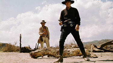 A scene from the 1968 film Once Upon A Time In The West.