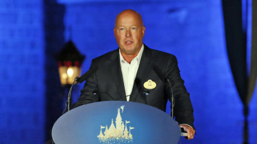 Disney Parks and Resorts chief Bob Chapek will replace Iger as CEO.