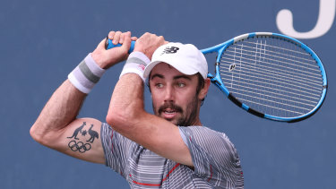 Jordan Thompson has won his second round match in New York.