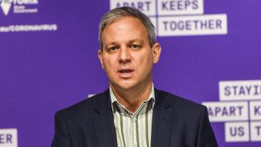 Victoria's Chief Health Officer Brett Sutton.