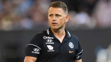 Carlton coach Brendon Bolton's future will be judged on a body of work this season, not a single loss.