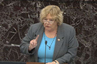 House impeachment manager Representative Zoe Lofgren was a congressional staffer during the Watergate years.