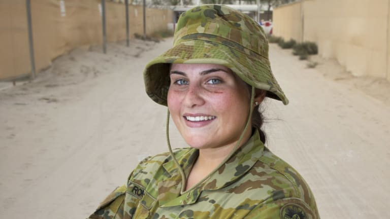 Wanted: Soldiers from the Commonwealth. An Australian soldier based in the United Arab Emirates.