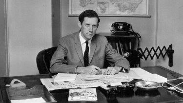 Evan Williams in 1965.