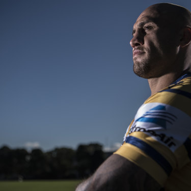 Blake Ferguson would also have remained silent during the national anthem on Wednesday had he made the Blues side.
