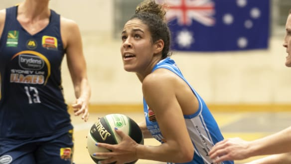 Canberra Capitals recruit Kia Nurse wins WNBL player of the week