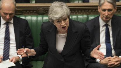 'End of the line': May could be gone in days as Brexit rebellion erupts