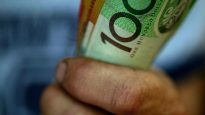 Cheque's no longer in the mail ... but $100 note is under the mattress