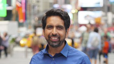 Sal Khan, founder of education social enterprise, Khan Academy,