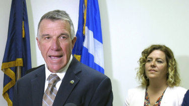 Vermont Governor Phil Scott said he supported an impeachment inquiry into the actions of Donald Trump.
