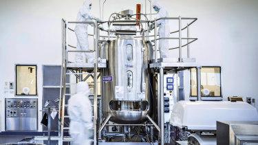 CSL's Broadmeadows laboratory, where AstraZeneca's vaccine is being made.