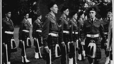 Knox Grammar School Cadet Corps was formed 91 years ago.