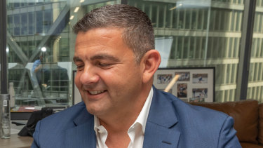 Football personality Bill Papas has apologised for missing court deadlines, blaming bad technology and severe anxiety.
