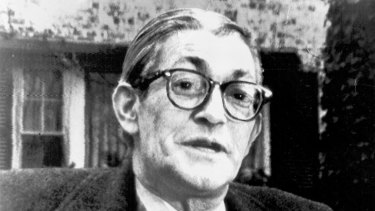 James Jesus Angleton in 1974, near the end of his two-decade reign as the CIA's counter-intelligence chief.