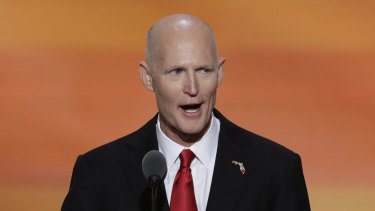 Republican Senator Rick Scott says the US is in a new cold war with China.
