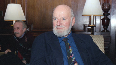 Lawrence Ferlinghetti in 1988.