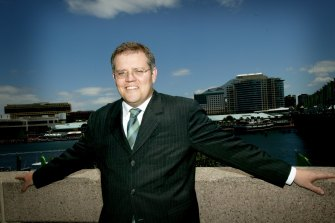 Scott Morrison, then managing director of Tourism Australia, in 2004.