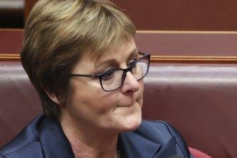 Defence Minister Linda Reynolds during Question Time.