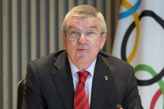 IOC president Thomas Bach said the Tokyo Olympics would go ahead as planned.