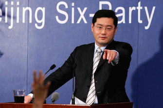 The appointment of Qin Gang (pictured in 2005) to the US has stirred up relations.