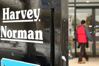 Harvey Norman saw sales and profits boom during the pandemic.