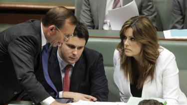 Andrew Hirst was an adviser under Tony Abbott and Peta Credlin.