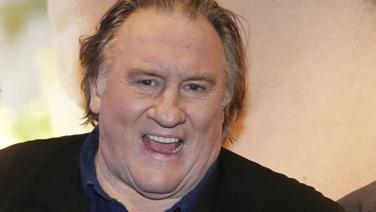 French star Gerard Depardieu pictured in 2016.