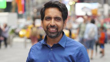 Sal Khan, founder of education social enterprise Khan Academy.