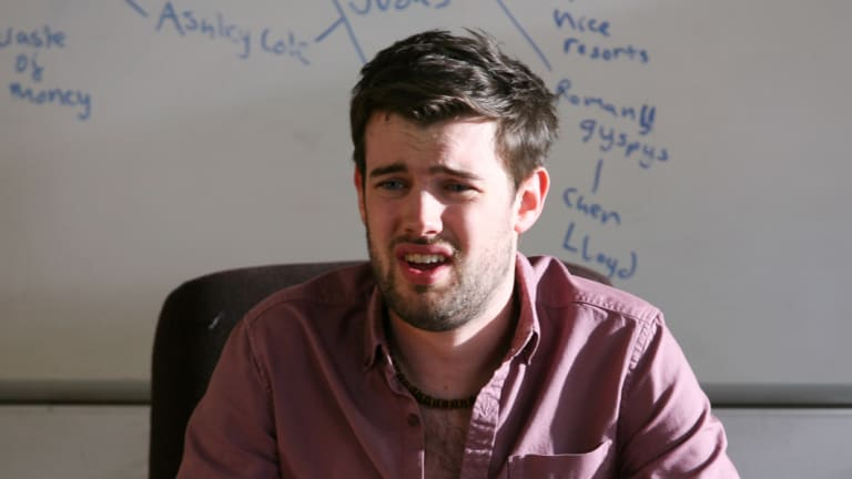 Jack Whitehall in the ABC's Bad Education.