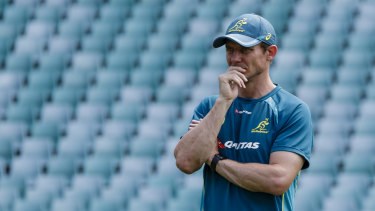 What's next: The Wallabies are looking for a new attacking coach after Stephen Larkham was let go.
