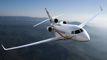 Australia's politicians will soon be jetting about in three new Dassault Falcon 7Xs.