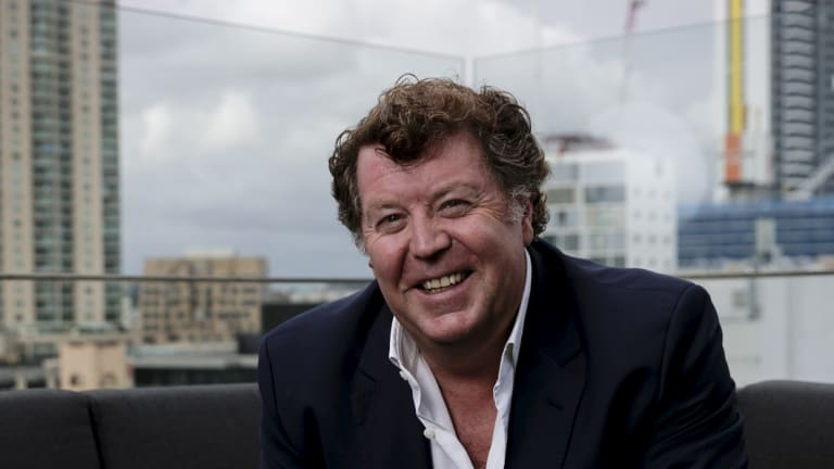 Southern Cross Austereo chief executive Grant Blackley and chairman Peter Bush expect the business to return to growth.