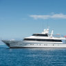 Four people from Sydney hotspot fined after entering Qld on superyacht