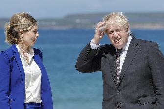 Boris Johnson and his wife Carrie Johnson are expecting her second child - and his seventh.
