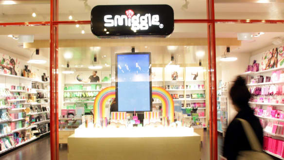 Sol Lew shows up Myer and powers up Smiggle