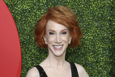 Kathy Griffin said she was undergoing treatment for lung cancer.