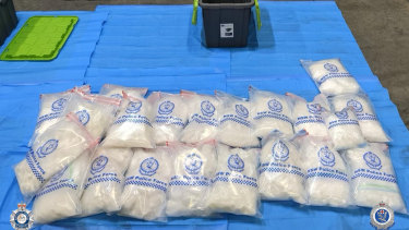 The amount of 'ice' and other drugs seized in NSW and across the country has soared.