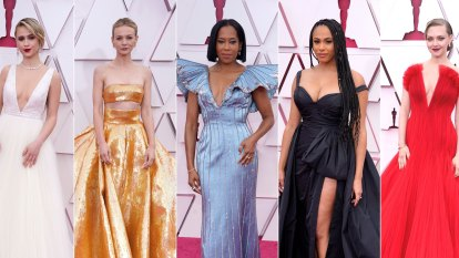 Black tie or bust: glamour returns at the Oscars