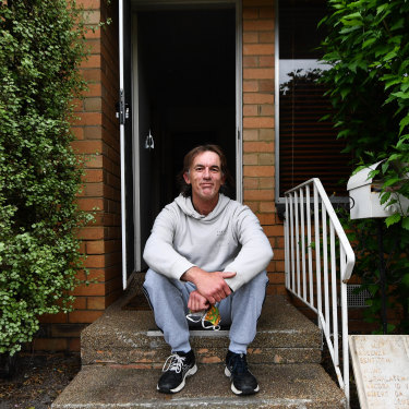 Glenn Kent, housed for the first time in more than 15 years thanks to Launch and funding by the Victorian government, wants to start giving back to his community once he's back on his feet.