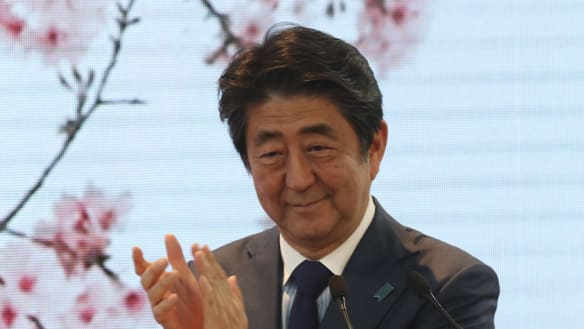 Japanese PM warns Britain no-deal Brexit would damage trade