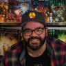 The self-confessed nerd on a mission to make comics more deadly
