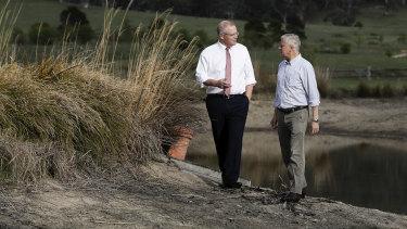 Prime Minister Scott Morrison and Deputy Prime Minister Michael McCormack.
