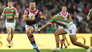 Superstar James Tedesco joind the Roosters last season from Wests Tigers.