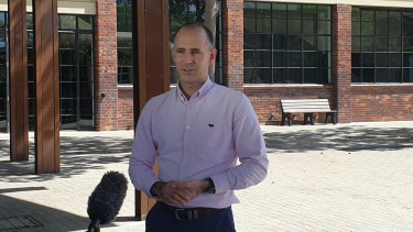 RNA chief executive Brendan Christou announces that the Royal Queensland Show will be cancelled for 2020.