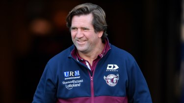 Des Hasler is about to sign his last contract as an NRL coach.