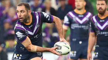Andrew Johns says Cameron Smith has got the skills to be an outstanding No.7.
