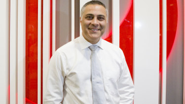 Ahmed Fahour, the former Australia Post boss, is under consideration by Virgin to replace John Borghetti as chief executive.