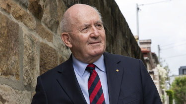 Former governor-general of Australia, Sir Peter Cosgrove.
