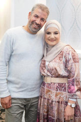 Waled Youssef and his wife, Fadia.